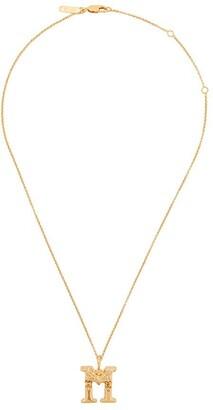Chloé letter M pendant necklace