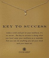 """Dogeared Reminder """"Key To Success"""" Gold-Plated Sterling Silver Pendant Necklace, 18"""""""