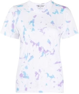 Comme des Garçons Comme des Garçons dye print T-shirt