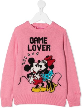 Mc2 Saint Barth Kids Princessa Game Lover-pattern jumper