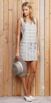 Greylin Charlotte Stripe Fringe Day Dress