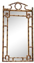 The Well Appointed House Antique Gold Bamboo Mirror- ON BACK ORDER UNTIL MARCH 15TH 2017