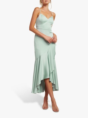 Forever New Hazel Wrap Dress, Pale Sage