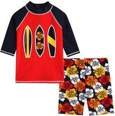 Vaenait Baby 2T-7T Infant Boys Rashguard swimsuit Set Surfing M