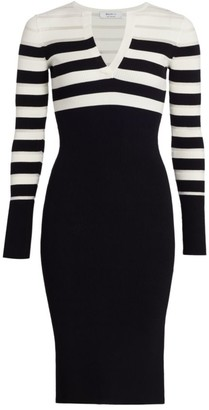 Bailey 44 Candice Striped Knit Dress