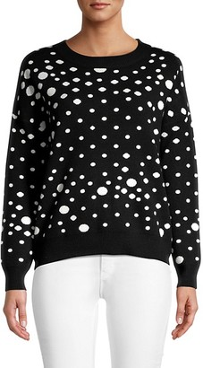 For The Republic Polka Dot Sweater
