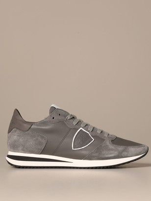 Philippe Model Tropez Sneakers In Leather And Suede