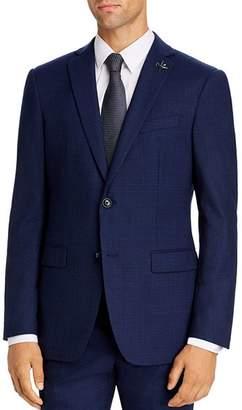 John Varvatos Mélange Solid Slim Fit Suit Jacket