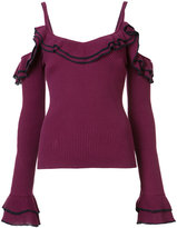 Zac Posen 'Laguna' sweater - women - cotton - XL