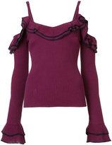 Zac Posen 'Laguna' sweater - women - cotton - XS