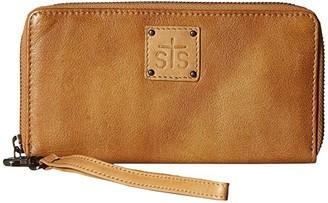 STS Ranchwear Rosa Wallet (Camel) Handbags