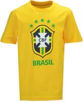 Outerstuff Brazil National Team Crest T-Shirt, Big Boys (8-20)