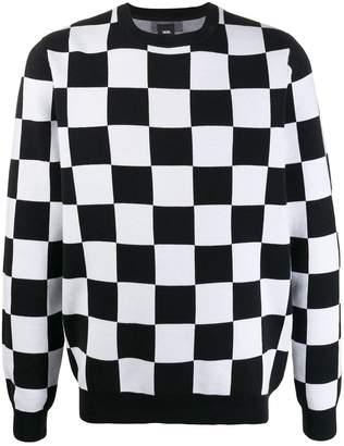 Vans checkerboard sweatshirt