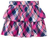 Crazy 8 Plaid Ruffle Skirt