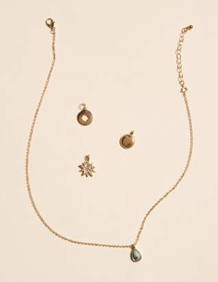 West Of Melrose Amazonite Charm Set Necklace
