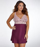Jezebel Goddess Satin Chemise Plus Size - Women's