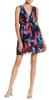 Betsey Johnson Pleated Fit & Flare Dress