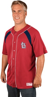 Majestic Men's St. Louis Cardinals Train the Body Jersey