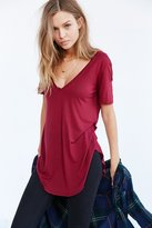 Truly Madly Deeply Deep-V Tee Dress
