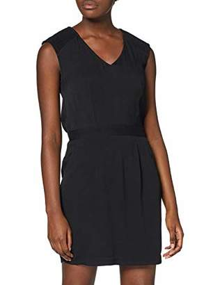 Color Block Women's 6124254 Party Dress, (Black), 8