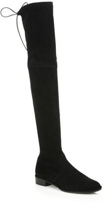 Stuart Weitzman Lowland Suede Thigh-High Boots
