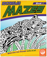 Extreme Mazes: Book 4 Activity Book