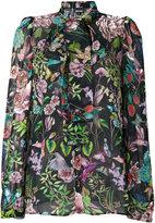 Just Cavalli pussy-bow fastening blouse - women - Viscose - 38
