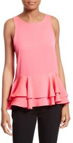 Milly Women's Stretch Silk Flare Tank