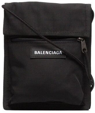 Balenciaga black Explorer messenger bag