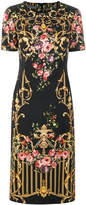 Alberta Ferretti floral print dress