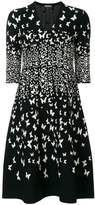Bottega Veneta butterfly knitted dress