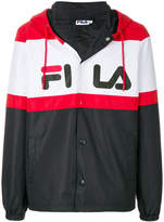 Fila logo printed hooded jacket