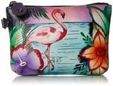 Anuschka Anna by Hand Painted Leather Women's Coin Pouch