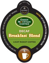 Vue VueTM 16-Count Green Mountain Coffee® Decaf Breakfast Blend Coffee for Keurig® Brewers