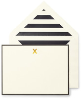 Kate Spade Monogram X Correspondence Cards - Set of 10