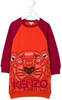 Kenzo 'Maxi Tiger' sweatshirt dress