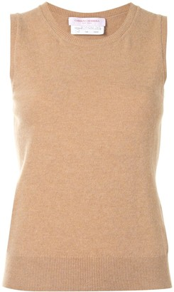 Carolina Herrera Sleeveless Knitted Vest