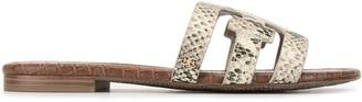 Sam Edelman Bay Pacific snake print sandals