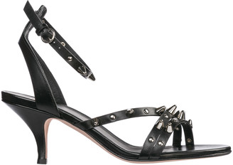 RED Valentino Studded Ankle Strap Sandals