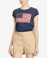 Polo Ralph Lauren Graphic-Print Cotton T-Shirt