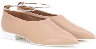 Jil Sander Leather ballet flats