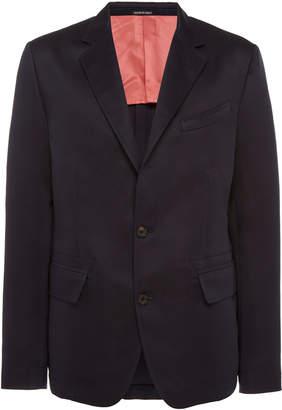 Alexander McQueen Silk-Blend Blazer