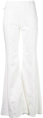 Chloé high waist flared jeans