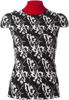 Paule Ka floral pattern top