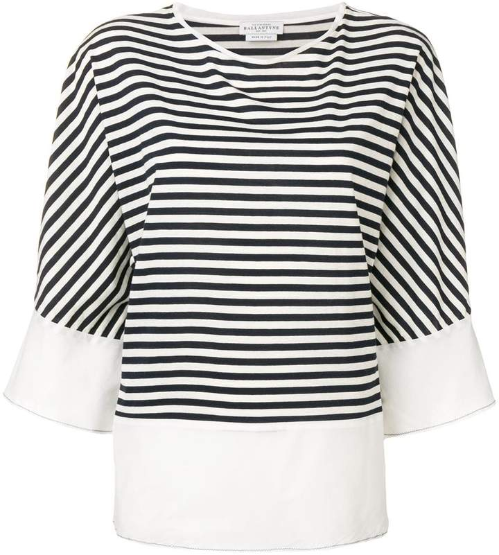 Ballantyne striped slouchy top