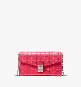 MCM Millie Crossbody in Diamond Patent Leather