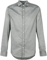 Armani Jeans faded checked shirt