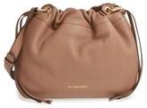 Burberry 'Small Bingley' Leather Bucket Bag - Black