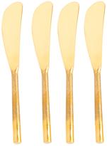 Shiraleah Yule Butter Knives (Set of 4)