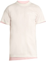 Vetements X Hanes double-layer T-shirt
